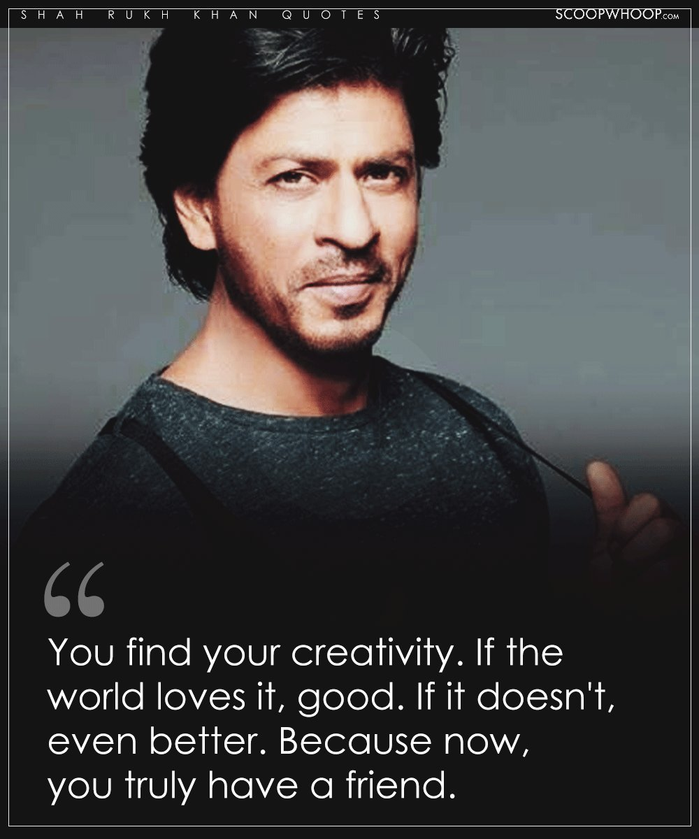 Short Sweet I Love You Quotes: 11 ShahRukh Khan Quotes To Bring Out Your Inner Hero